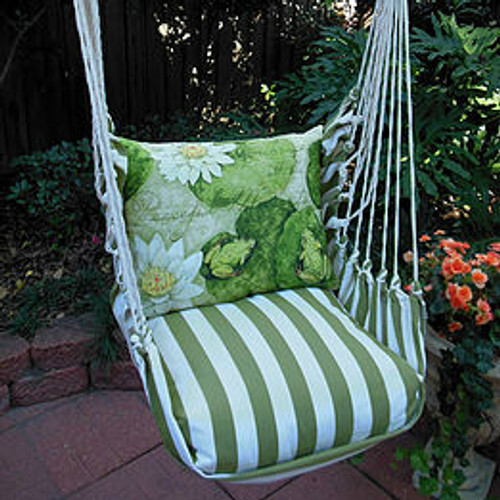 Frog Lilypad Hammock Chair Swing