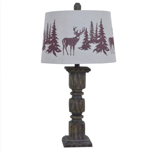 Deer Table Lamp | Crestview Collection