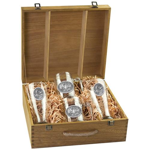 Moose Beer Glass Boxed Set