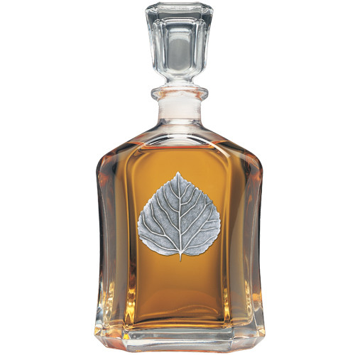 Aspen Leaf Capitol Decanter