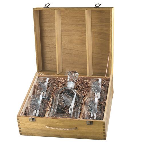 Alligator Capitol Decanter Boxed Set