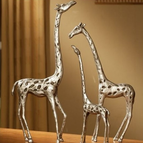 Giraffe Family Sculpture Set | 33017