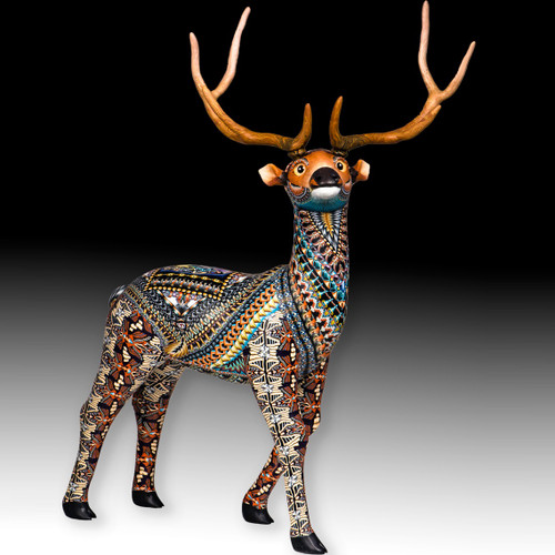 Elk Papa Figurine