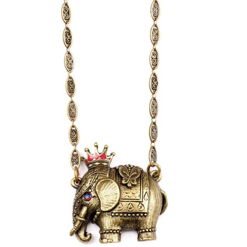 Elephant Necklace  | Nature Jewelry