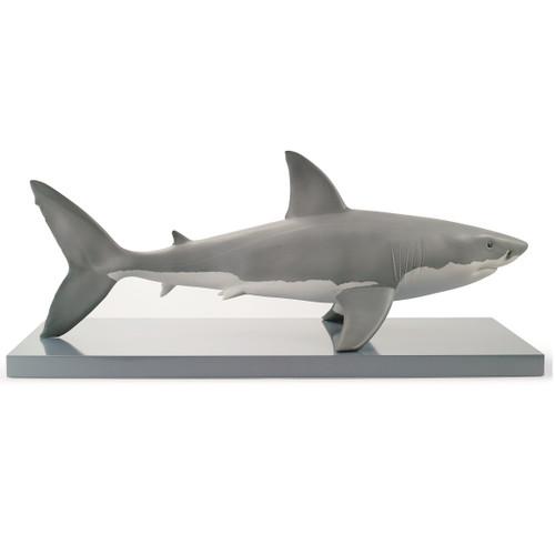 White Shark Porcelain Figurine