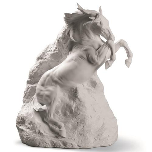 "Horse Porcelain Figurine ""Unbreakable Spirit"""