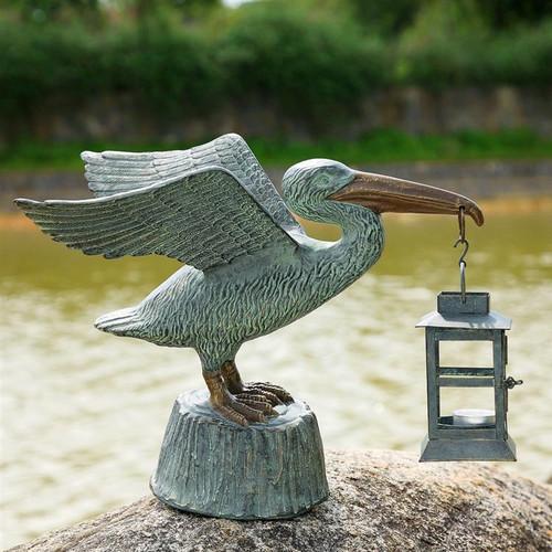 Pelican Candle Holder Lantern | 33554