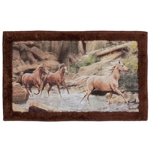 Horse Canyon Bath Rug