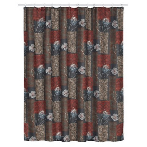 Borneo Floral Shower Curtain