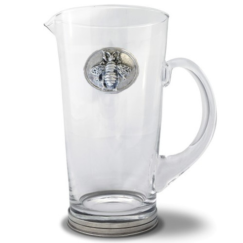 Bee Glass Pitcher