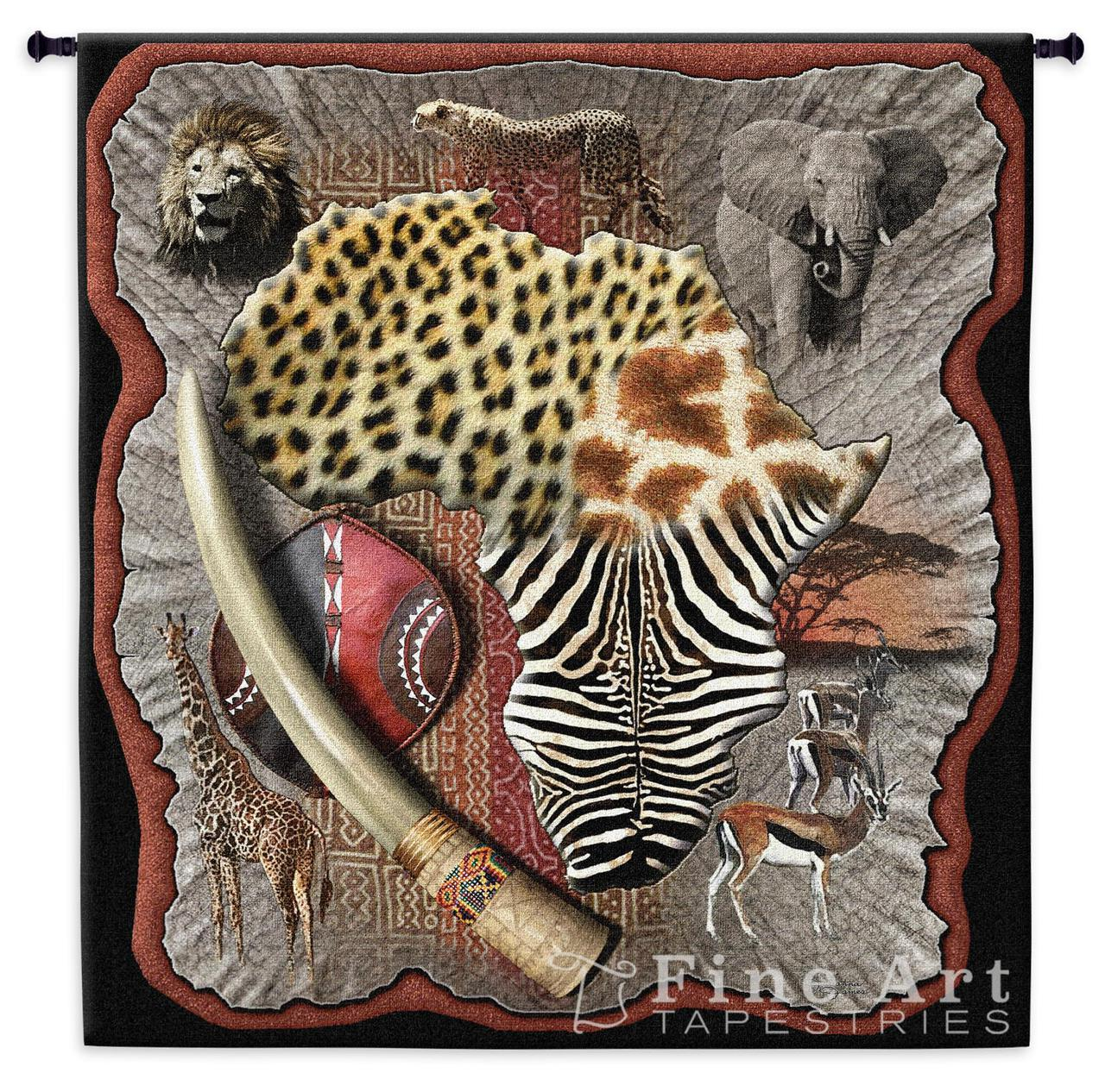 Tapestry Wall Hanging african wall hanging | tapestry | safari | pure country