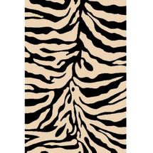 Zebra Sculpture Area Rug | Persian Weavers | S-245