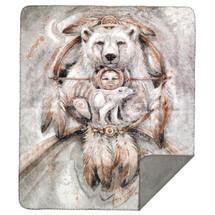 Spirit Bear Throw Blanket | Denali | 16119172