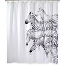 Zebra Shower Curtain Set | Avanti | BlissLiving | 13846H