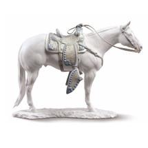 White Quarter Horse Porcelain Figurine | Lladro | 01009273