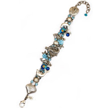 Mermaid On a Shell Bracelet   Nature Jewelry   BR9508BL
