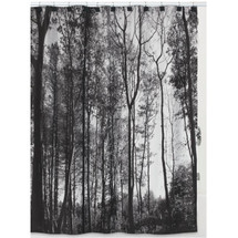 "Trees Shower Curtain ""Sylvan"" 