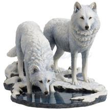 Wolf Sculpture   Winter Warriors   Unicorn Studios   WU77057AA