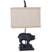 Bear Fishing Table Lamp   Crestview Collection   CVAVP133