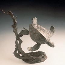 Sea Turtle Bronze Sculpture  41026 Mark Hopkins | 41026