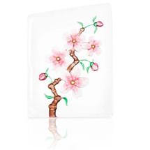 Cherry Blossom Crystal Sculpture | 34102 | Mats Jonasson Maleras