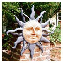Rising Sun Wall Plaque   30808   SPI Home