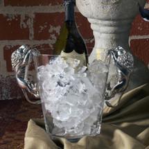 Pewter Lion Ice Bucket | Vagabond House