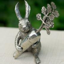 Rabbit/Carrot Salt Pepper Shakers | Vagabond House | VHCR116V