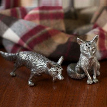 Fox Salt Pepper Shakers | Vagabond House | VHCV116F