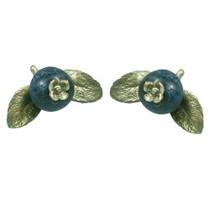 Blueberry Pierced Earrings | Michael Michaud Jewelry | SS4387bzbc