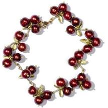 Cranberry Bracelet | Michael Michaud Jewelry | SS7105bzcr -2