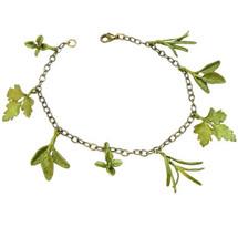 Petite Herb Charm Bracelet   Michael Michaud Jewelry   SS7238BZ