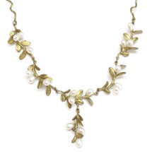 Boxwood Twigs Necklace | Michael Michaud Jewelry | SS7922bzwp -2