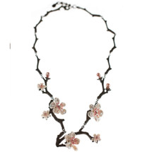 Cherry Blossom Twig Necklace | Michael Michaud Jewelry | SS8284BZWP