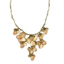Hydrangea Contour Necklace | Michael Michaud Jewelry | SS8335BZ -2