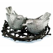 Hummingbird Salt Pepper Shakers   Michael Michaud Table Art   taGDSP305AP
