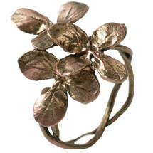 Clover Napkin Rings Set of 4  | Michael Michaud Table Art | TAnr9460ab