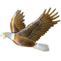 Eagle Cloisonne Pin | Bamboo Jewelry | bj0052p