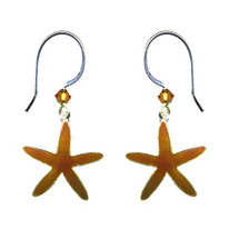 Sea Star Wire Earrings | Bamboo Jewelry | BJ0231e