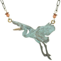 Heron Bronze Beaded Necklace | Cavin Richie Jewelry