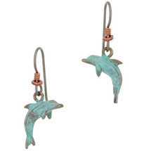Dolphin Earrings | Cavin Richie Jewelry | DMOKBE-56-FH