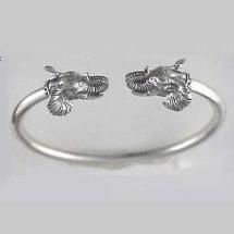 Elephant Sterling Silver Bracelet   Kabana Jewelry   Kbr186