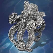 Octopus Sterling Silver Bracelet | Kabana Jewelry