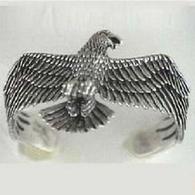 American Eagle Sterling Silver Cuff Bracelet | Kabana Jewelry