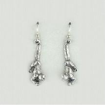 Humboldt Monkey Sterling Silver Wire Earrings | Kabana Jewelry | Ke056