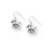 Horse Foal Sterling Silver Wire Earrings   Kabana Jewelry   Kse096