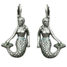 Mermaid Octopus Garden Earrings   La Contessa Jewelry   LCer8062