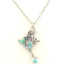 Mermaid Il Mare Turquoise Necklace   La Contessa Jewelry   LCNK8766tq