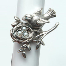 Primavera Bird Ring | La Contessa Jewelry