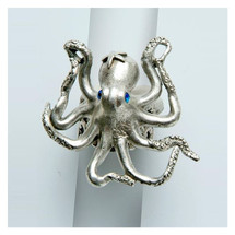By the Sea Octopus Ring | La Contessa Jewelry